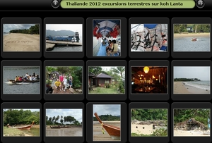 Album photos des excursions